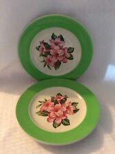 "2 Mayer China - Dorothy Draper - Rhododendron - Hotel - 8"" Plates"