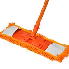 NEW Extendable Microfibre Mop Cleaner Sweeper Wooden Laminate Tile Floor F9G6