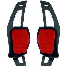 Schaltwippen Verlängerung schwarz passend für Golf 5 & 6 Seat Leon Skoda Octavia
