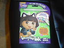 Dora Halloween IMAGINE INK MAGIC INK Pictures Art Activity Set Rub to Color NEW
