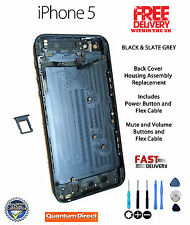 IPhone 5 Back Cover Housing Replacement with Internal Parts Assembled - BLACK