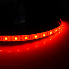 4 X 30CM 18 LED 5050 SMD Flexible Strip Light Car Lamp Waterproof Red 12V DC