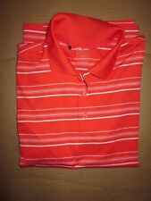 Mens Adidas Puremotion Golf athletic collared shirt sz M Md Med