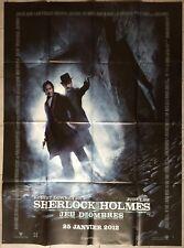 Cartel Holmes Juego de ' Sombras Guy Ritchie Jude Law Downey Jr. 120x160cm