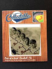 Atlanta Braves lapel pin-Limited Editon-Diamond Legends-Set of 2 Classic's