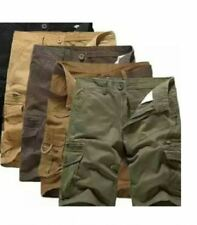 KHAKI MEN'S 6 POCKET SHORTS SIZE 28