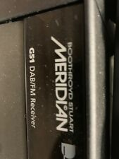 Meridian G51DAB receiver with phono stage