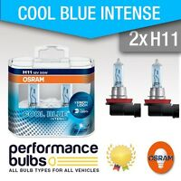 H11 Osram Cool Blue Intense 4200K Bulbs FORD RANGER 10-> Foglight Bulbs