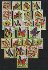 Burundi - 1968 Butterflies - cat. $ 66.00