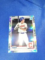 2020 Bowman Draft Chrome Refractor Carson Tucker #BD-60 INDIANS 1ST RD PICK 2020