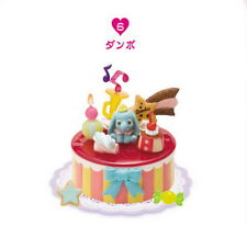Re-ment Miniatures Disney Lovely Party Happy Birthday Gift Cake rement No .06