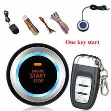 Car Auto Alarm System Security Vibration Alarm Ignition Engine Start Push Button