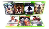 Microsoft Xbox 360 Lot of 7 Games Good Condition Tested & Works