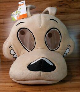 Nickelodeon Maskimals Plush Head Rocko Halloween Mask NWT