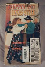 Country Dance VHS FACTORY SEALED Steppin' Out Texas Style