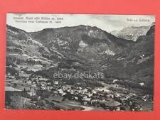 SIUSI ALLO SCILAR SEIS am Schlern Dolomiti Costazza Bolzano vecchia cartolina