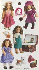 American Girl Doll Rebecca sticker sheet-Crafts Scrapbooking Easter gift