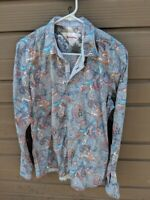 RICH FRIDAY Mens L Exclusive *7 days Weekend Collection* Long Sleeve Shirt