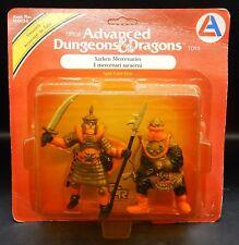 1982 tsr SARKEN MERCENARIES Advanced Dungeons & Dragons PVC figures LJN Italian