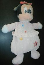 Doudou et Range Pyjama Minnie Mouse Rose Etoile Planète Baby Disney Nicotoy TTBE