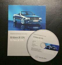 Werkstatthandbuch + Teilekatalog DVD Mercedes R129 SL-Klasse 280 300 320 500 600