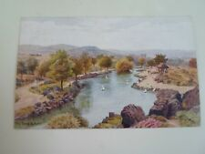 A R QUINTON Postcard 2024 THE TARN, ILKLEY  Franked+Stamped 1954  §A2877