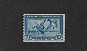 RW1 1934 U.S. FEDERAL DUCK STAMP - MINT / NH / NO GUM LOT 272