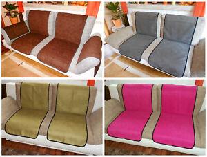 Sofaläufer Sesselläufer Überwurf Sesselschoner 50x140 Bezugsstoff mehrere Farben