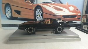 ERTL AMERICAN MUSCLE - KNIGHT RIDER - K.I.T.T  - 1/18 SCALE MODEL CAR - UNBOXED
