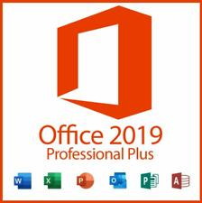 Office2019 Professional Plus Lizenzschlüssel, 1 PC, Lebenszeit & Updates