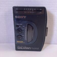 Vintage Sony Walkman WM-FX38 Mega Bass Cassette Player Tested Works!