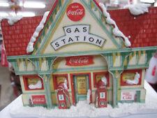 Coca-Cola LED Gas Station - Kurt S. Adler