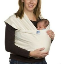 Moby Wrap Baby Carrier Born Free Design, Natural.