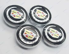 60mm 4Pcs Car modification Parts Wheel Center Caps Hub Cover Logo for Cadillac