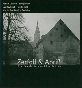 """""""Zerfall & Abriß – Greifswald in den 80er Jahren"""" Erstausgabe (!)"""