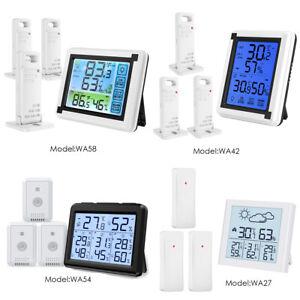 198FT Digital Display Outdoor Indoor Thermometer Hygrometer Temperature_Humidity