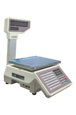 110V Commercial Digital Price Computing Scale 66 lbs with Label Printer