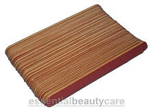 50 x Jumbo Emery Boards Nail Files Grit- 100/240 The Edge