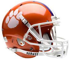 Clemson Tigers NCAA College Football Team Schutt Full Size Replica XP Helmet