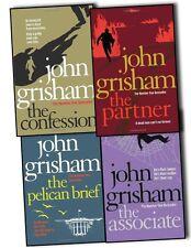 John Grisham 4 Books Collection The Confession, Associate, Pelican Brief Partner