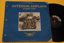 JEFFERSON AIRPLANE 2LP FLIGHT LOG ORIG PROG EX ! GATEFOLD TEXTURED COVER