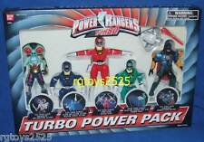"Power Rangers Turbo Hammeron Amphibitor Red Blue Green 5"" Factory Sealed 1997"