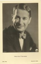 REAL PHOTO Maurice Chevalier Film Actor UNUSED POSTCARD