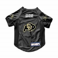 NEW COLORADO BUFFALOES DOG CAT DELUXE STRETCH JERSEY