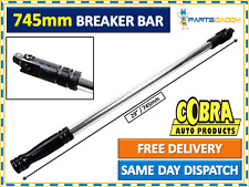 "Power Breaker Bar Socket Wrench 1/2 Inch Square Drive 29"" 745mm Long #29-17"