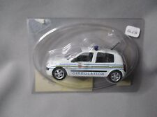AG670 HACHETTE NOREV POLICE RENAULT CLIO 2002 CIRCULATION 1/43 SOUS BLISTER