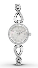 $265 Bulova Women's Watch Crystals Collection 96X129
