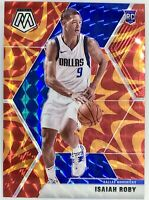 2019-20 Panini Mosaic Prizm Isaiah Roby Orange Reactive Rookie Card Rc Thunder🔥
