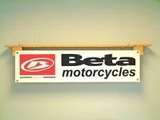 BETA MOTO TRIAL Banner Workshop Garage OFF ROAD a terra in pvc sign
