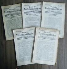 Deutsche Taubstummenblätter 1930 5. Jahrgang Nr. 1-12 Leitmeritz Johann Otto
